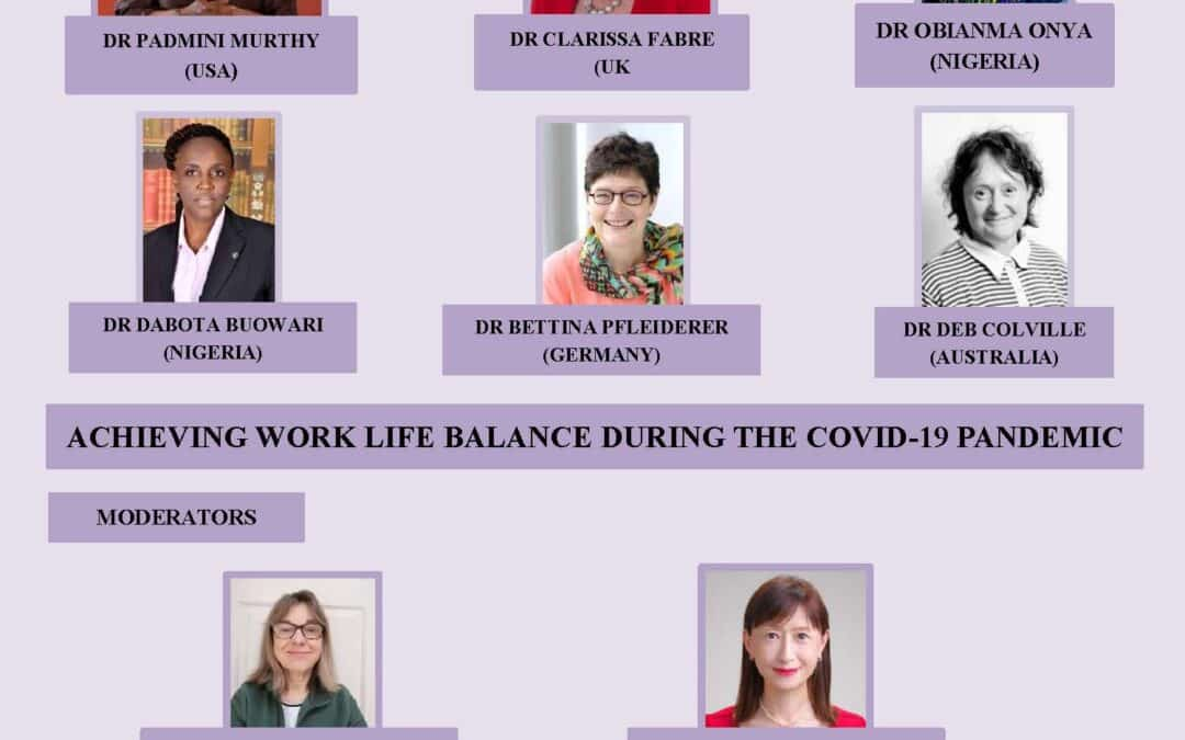 MWIA Work Life Balance Special Interest Group Webinar
