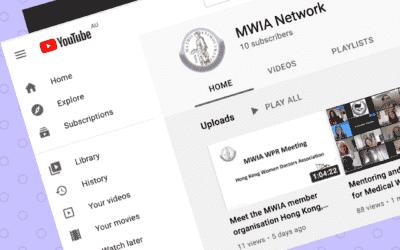 MWIA on Youtube – Meet the Hong Kong Women Doctors' Association (HKWDA)