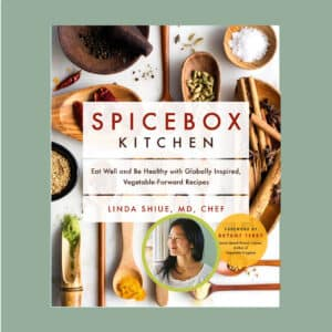Dr L Shiue, Chef, applies her medical knowledge to promote. Preventative health by focusing on eating well with quality food. BUY the cookbook, join AMWA's Spicebox Cooking Club
