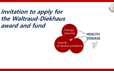 Invitation to apply for the Waltraud-Diekhaus Award and Fund