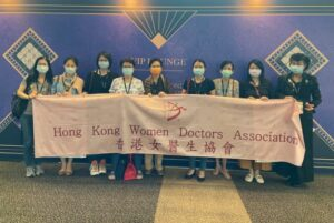 Group Photo for the Visit to the Hong Kong International Jewelry Twin Shows